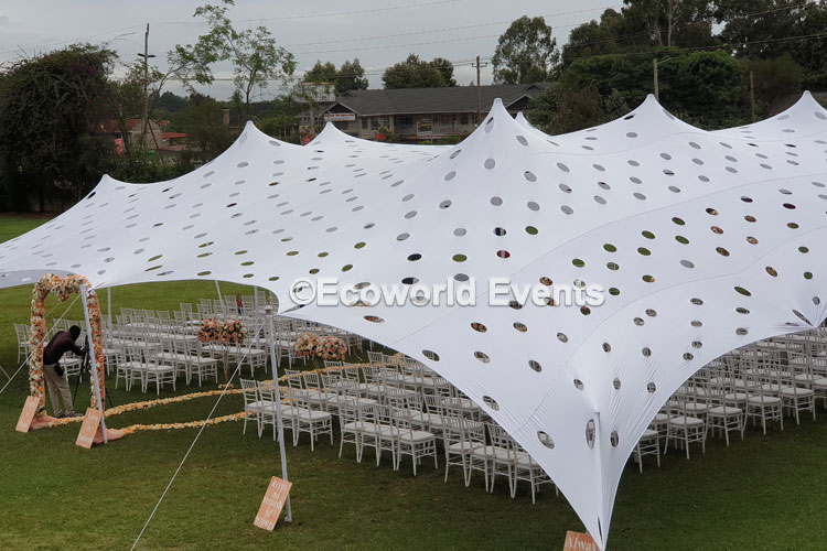 Ecoworld Canopies 11 - Tents hire in Kenya