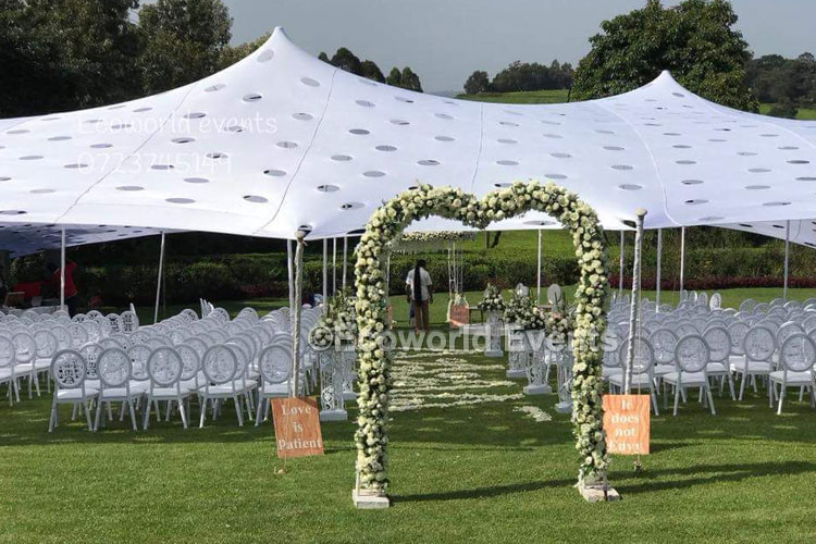 Ecoworld Canopies 12 - Tents hire in Kenya