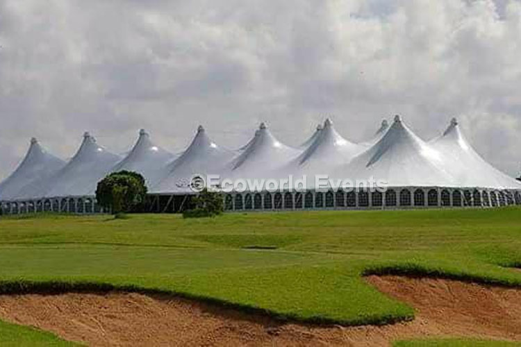 Ecoworld Dome12 - Tents hire in Kenya