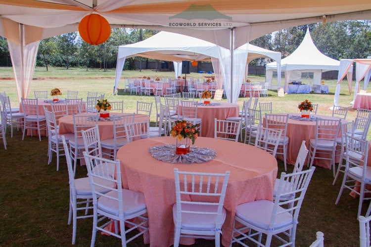 Ecoworld Hexagonal tent4 - Tents hire in Kenya