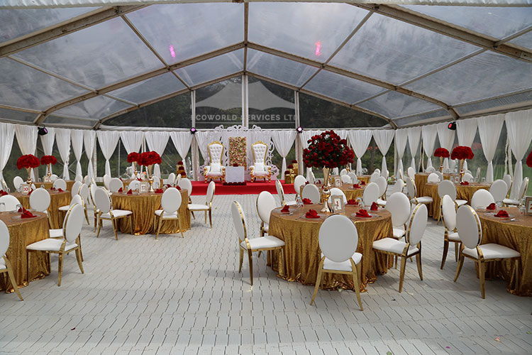 Ecoworld Aframe Tent1 - Tents hire in Kenya