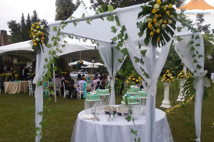 Ecoworld Canopies Tent1 - Tents hire in Kenya