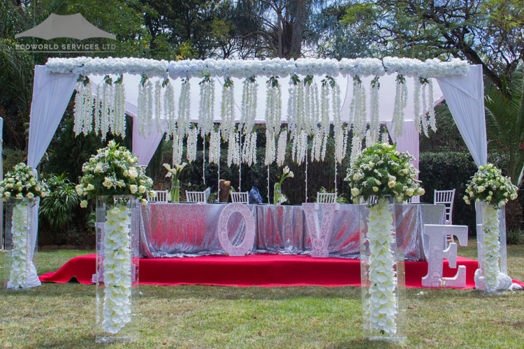 Ecoworld Canopies Tent2 - Tents hire in Kenya
