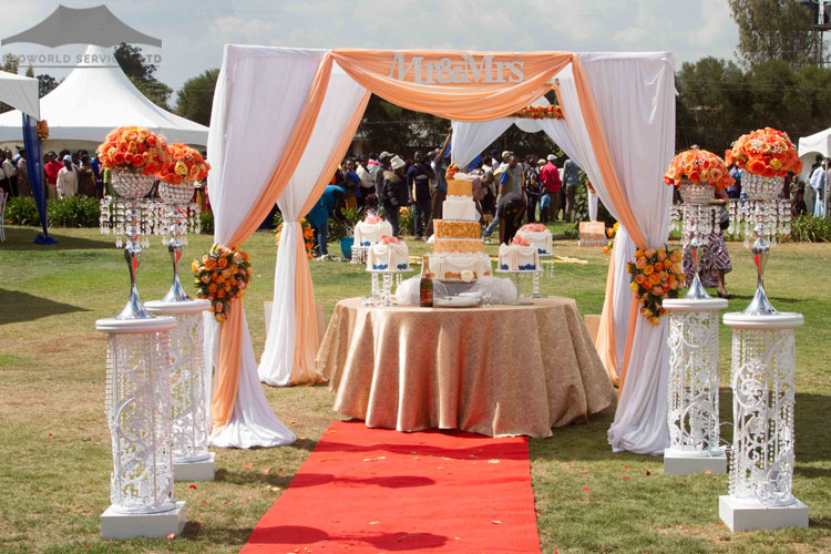 Ecoworld Canopies Tent4 - Tents hire in Kenya