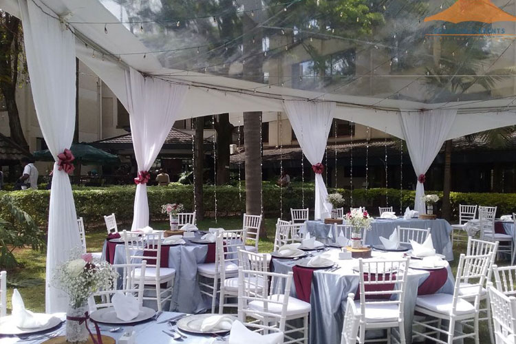 Ecoworld Clear Tent2 - Tents hire in Kenya