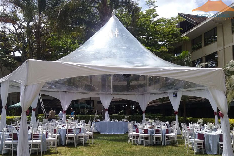 Ecoworld Clear Tent3 - Tents hire in Kenya