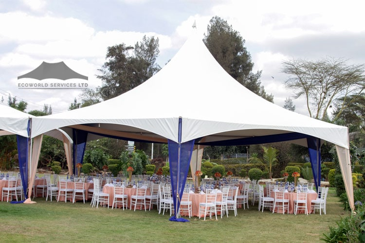 Ecoworld Marquee Tent5 - Tents hire in Kenya