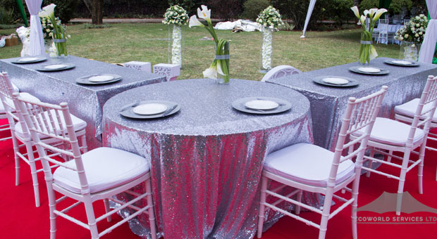 Ecoworld Rectangular Table - Tables hire in Kenya