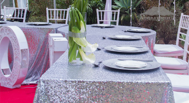 Ecoworld Rectangular Table2 - Tables hire in Kenya