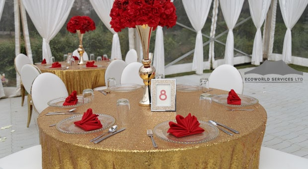 Ecoworld Round Table1 - Tables hire in Kenya
