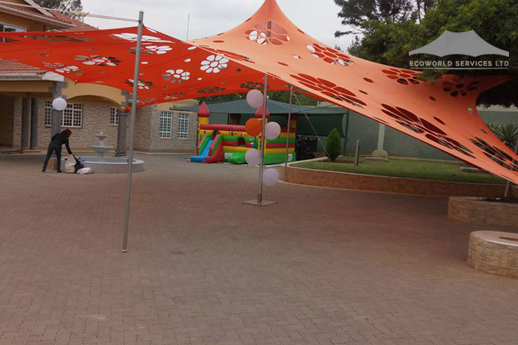 Ecoworld Stretch Tent - Tents hire in Kenya