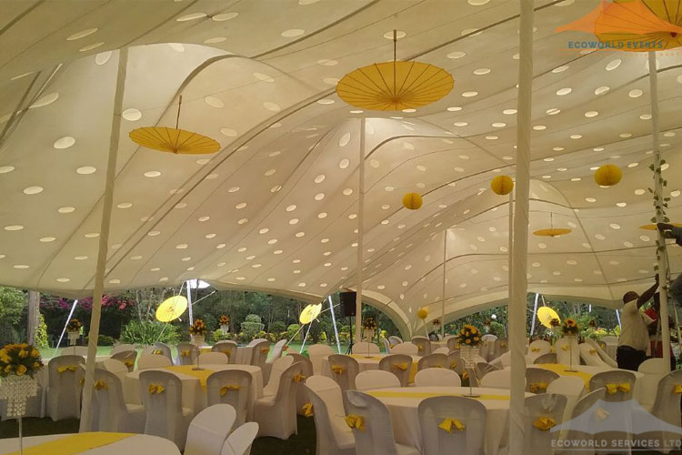 Ecoworld Stretch Tent4 - Tents hire in Kenya