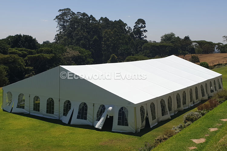 Ecoworld Aframe12 - Tents hire in Kenya