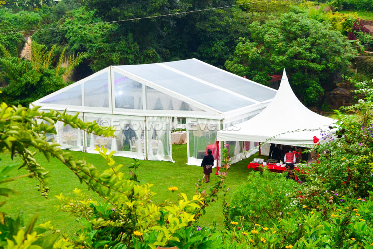 Ecoworld Aframe13 - Tents hire in Kenya