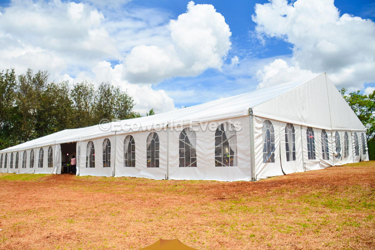 Ecoworld Aframe14 - Tents hire in Kenya
