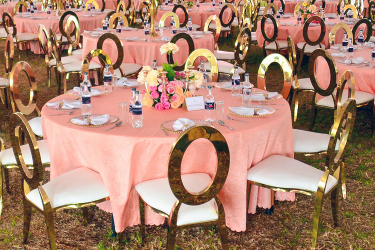 Ecoworld Banquet gold - Chairs hire in Kenya