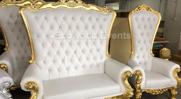 Ecoworld Chairs Kingqueen3 - Chairs hire in Kenya