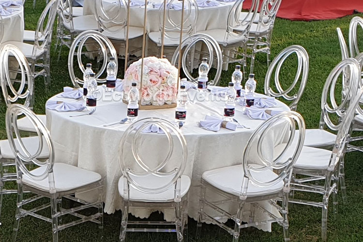 Ecoworld Chiavari Clear - Chairs hire in Kenya