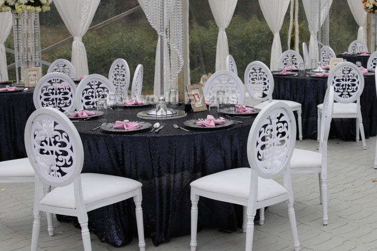 Ecoworld Chiavari white - Chairs hire in Kenya