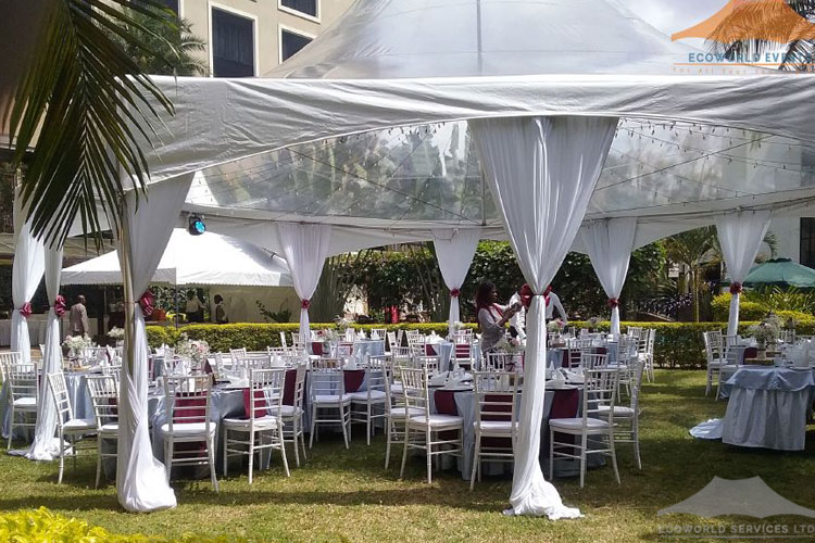 Ecoworld Clear Tent1 - Tents hire in Kenya