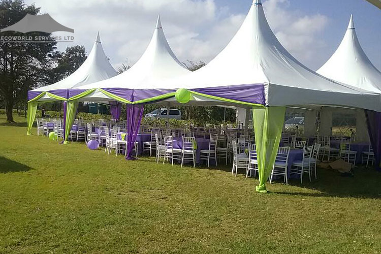Ecoworld Marquee Tent - Tents hire in Kenya