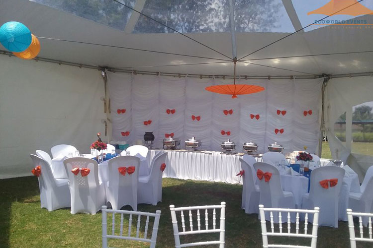Ecoworld Marquee Tent3 - Tents hire in Kenya