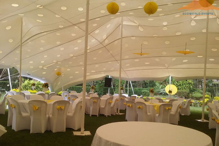 Ecoworld Stretch Tent3 - Tents hire in Kenya